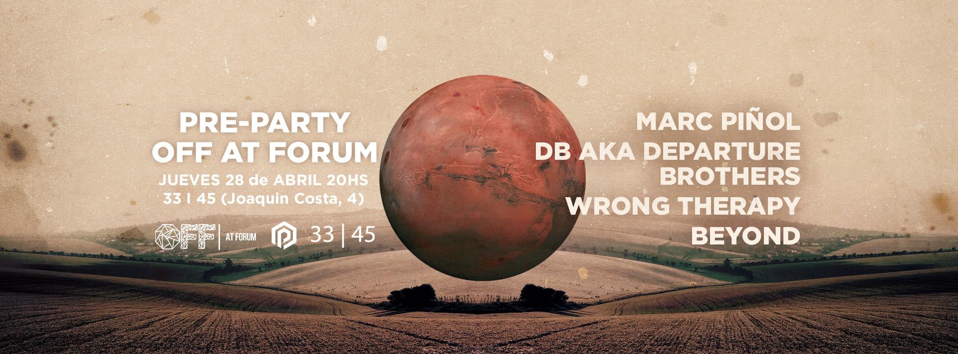 pre-party off forum