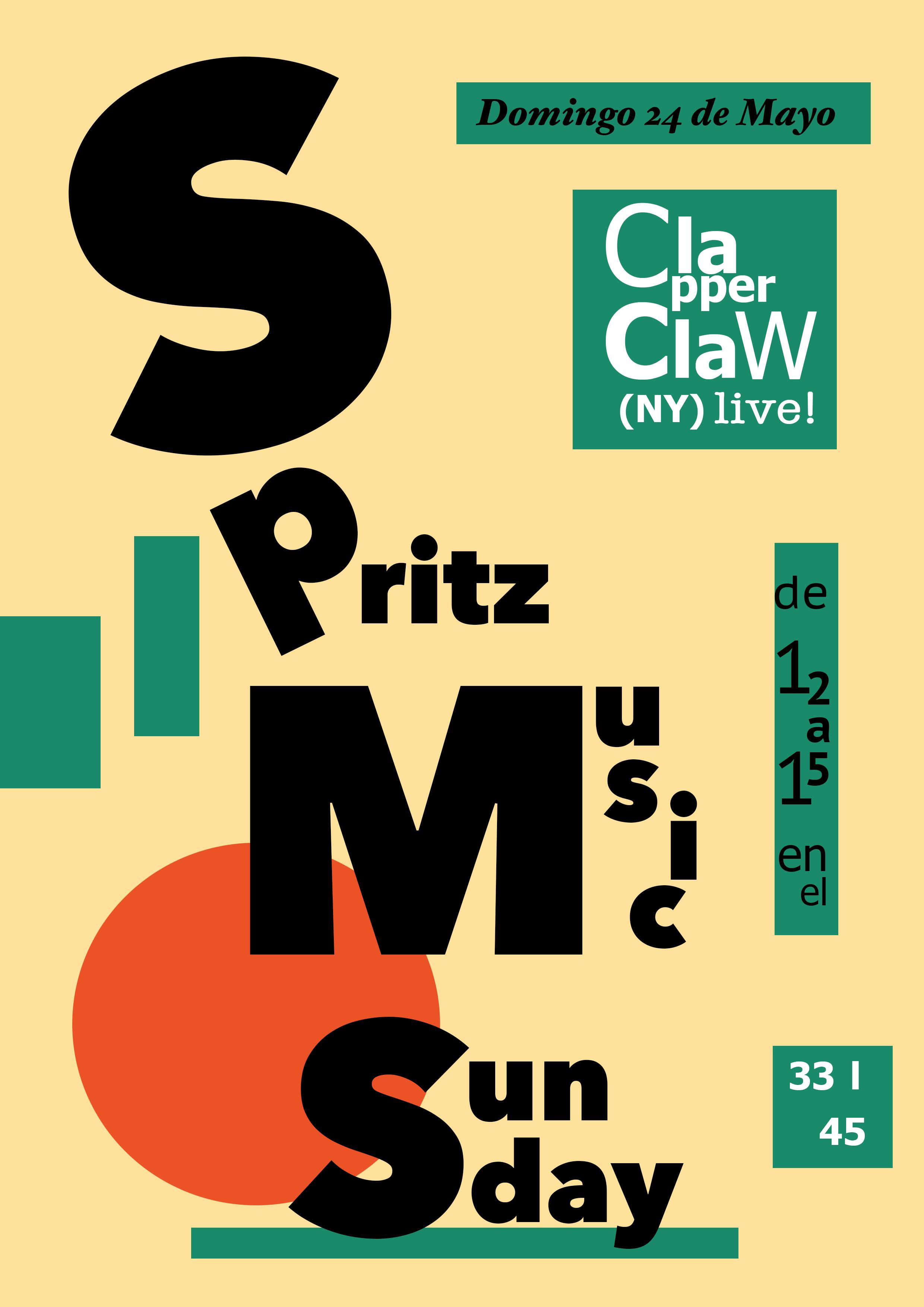 Spritz music sunday
