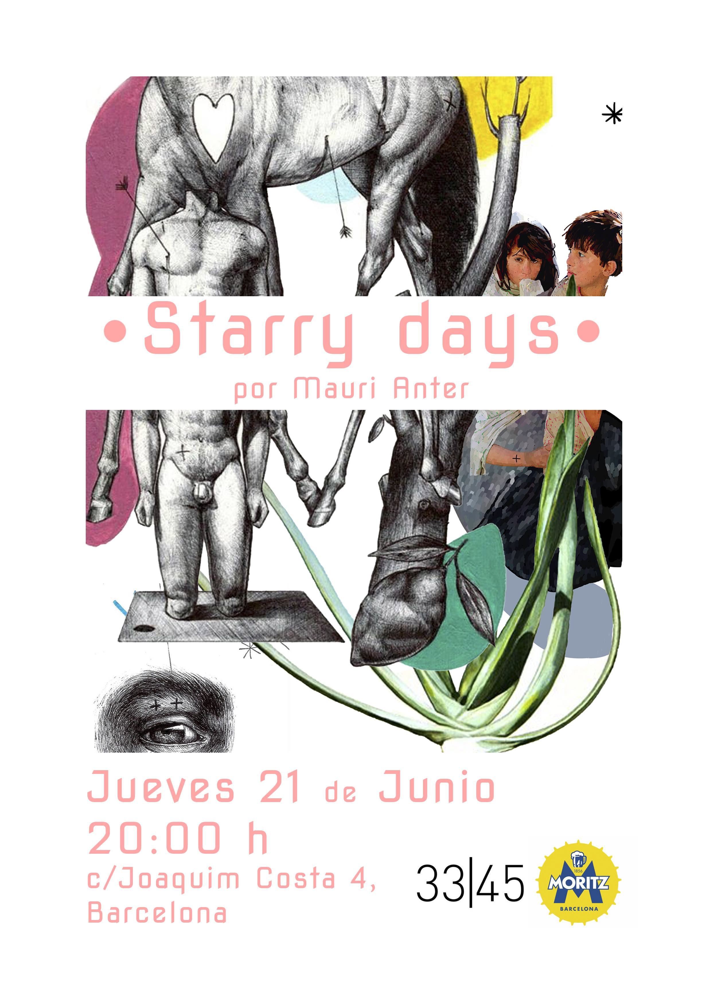 Starry days por Mauri Anter